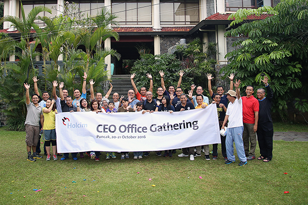 Holcim CEO Office Gathering
