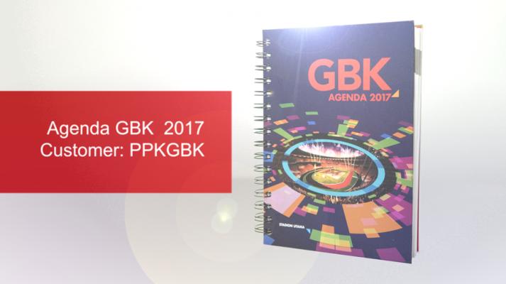 Desain Agenda GBK 2017 [Portofolio]